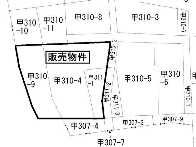 甲土地販売図(大和田)